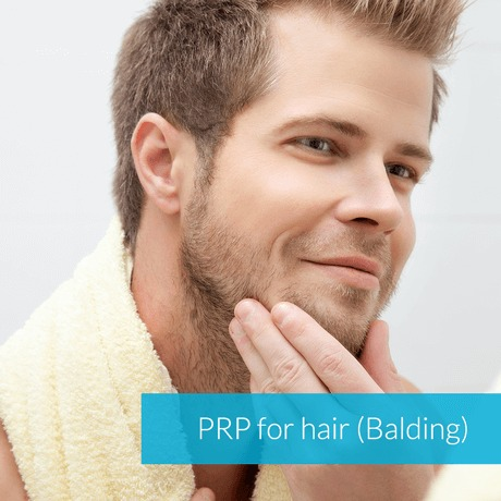 PRP for Hair Growth (Balding)